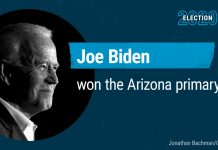 Joe Biden wins the Arizona primary