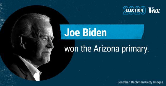 Joe Biden wins the Arizona primary