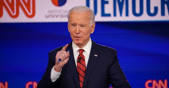 Joe Biden says the pandemic response is an opportunity for structural change