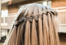 How To Create A Waterfall Braid In 3 Easy Steps