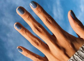 Why Blue Is The Perfect Nail Color For Right Now