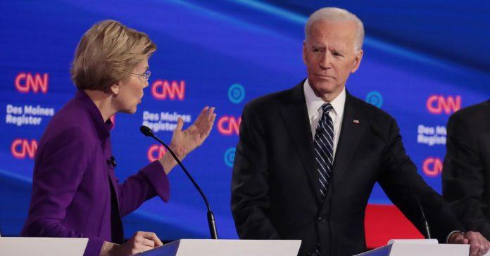 Joe Biden racks up another big endorsement: Elizabeth Warren
