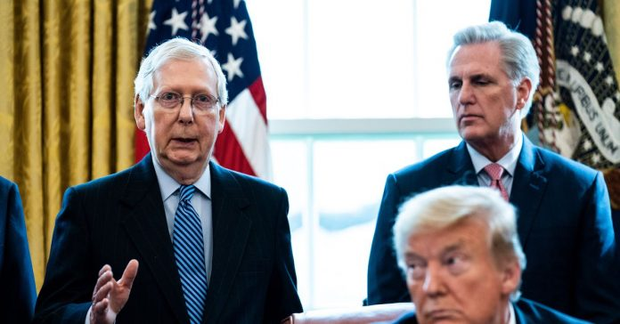 """""""Leave no vacancy behind"""": McConnell remains laser-focused on judges amid coronavirus"""