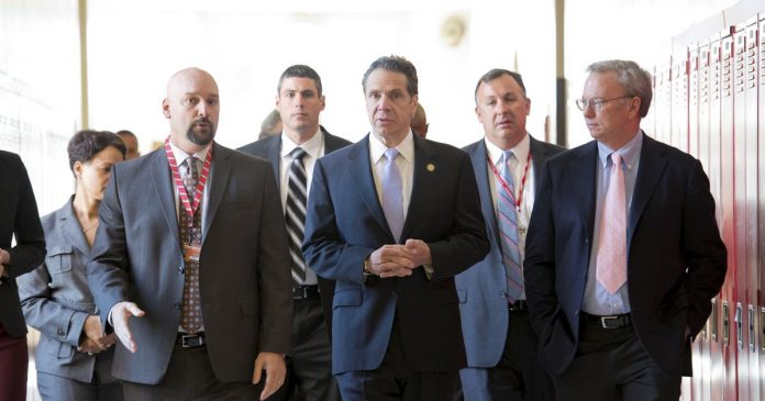 Andrew Cuomo is leaning on tech billionaires to help New York rebuild