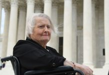 Aimee Stephens brought the first major trans rights case to the Supreme Court. She may not live to see the decision.