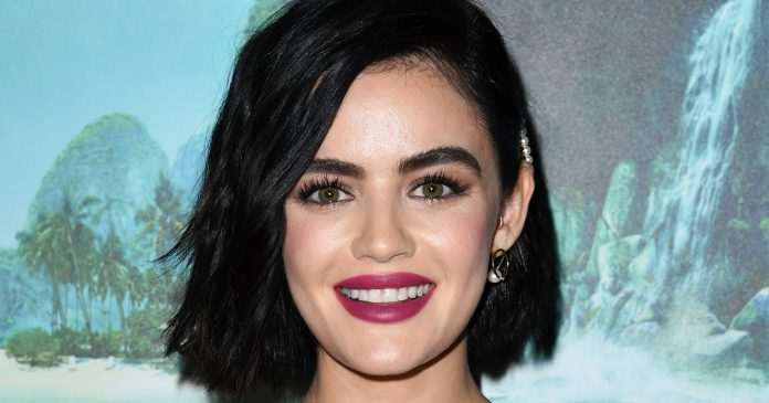 The New Beauty Skill Lucy Hale Is Learning In Quarantine