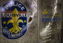 """""""Directly at us"""": Louisville law enforcement shoots reporters with pepper bullets"""