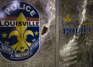 """Directly at us"": Louisville law enforcement shoots reporters with pepper bullets"