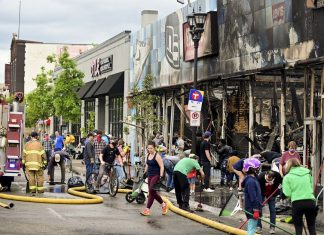 Minnesota governor and mayors blame out-of-state agitators for violence and destruction
