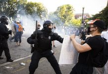 The White House's explanation for a tear gas attack on peaceful protesters doesn't add up