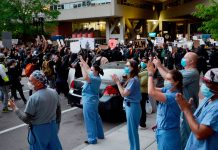 Nurses Respond To George Floyd Protests During The Pandemic
