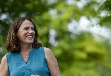 Theresa Greenfield has won the Democratic Senate primary in Iowa