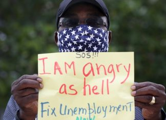 As the country reopens, black workers are getting left behind