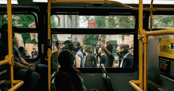 Some cities are shutting down transit after curfew. It's a problem for essential workers and protesters.