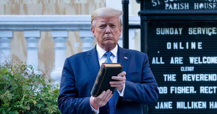 I Was In Lafayette Square Before President Trump's Bible Photo-Op. Now, I'm Suing