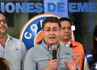 The president of Honduras is the latest world leader to test positive for the coronavirus