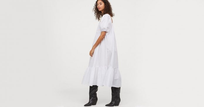 Channel The Little House On The Prairie With These 24 White Dresses