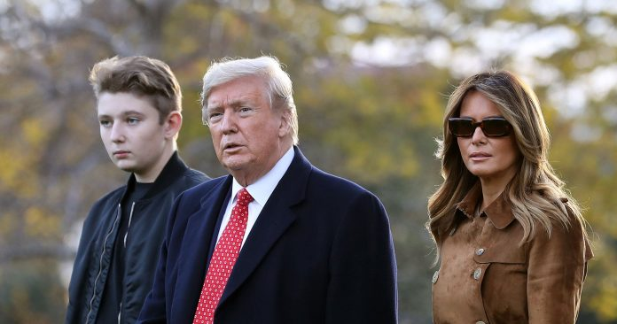 """Everything You Need To Know About TikTok's Defunct """"Save Barron Trump"""" Campaign"""