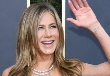 Fans Are Trying To Guess The Meaning Of Jennifer Aniston's Wrist Tattoo