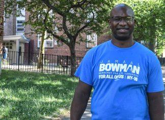 Middle school principal Jamaal Bowman unseats Eliot Engel in New York
