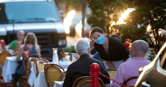 Outdoor dining and drinking is allowed. But is it safe?