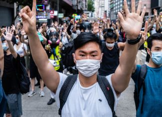 Google joins a group of major tech companies in pushing back against Hong Kong's new security law