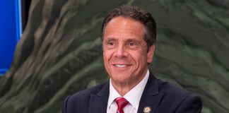 What Is The Boyfriend Cliff? An Investigation Into Andrew Cuomo's Pandemic Poster
