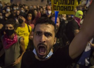 Israel's second coronavirus wave is threatening Netanyahu's hold on power