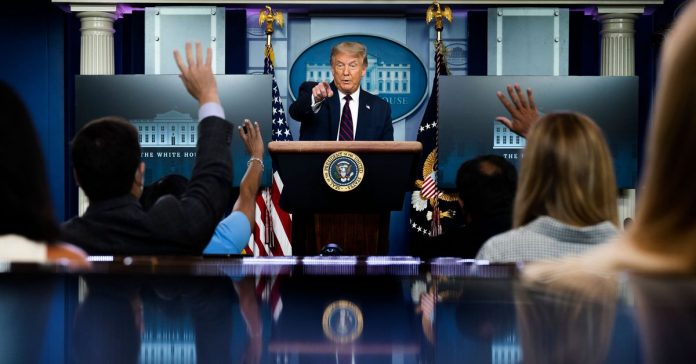 """What to make of Trump's """"new tone"""" at the Covid-19 briefings"""
