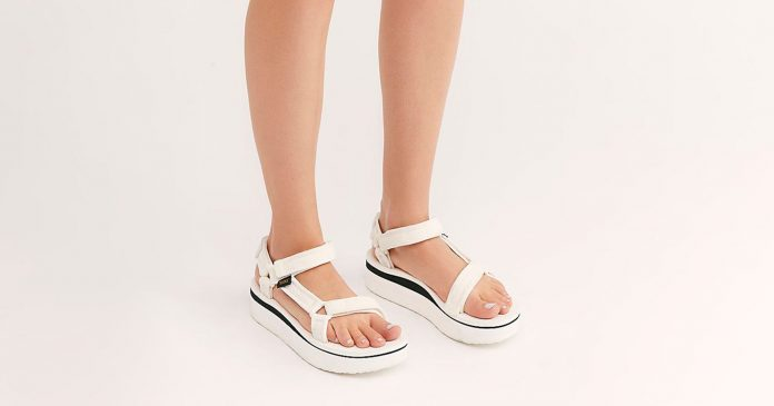 The Best White Sandals For Summer (Paired With The Goods To Keep Them Clean)