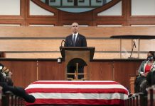 """""""The march is not over"""": Read Barack Obama's eulogy for John Lewis"""
