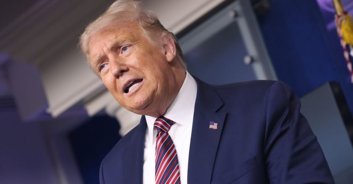 Trump admits he's stalling pandemic relief to make it harder to vote