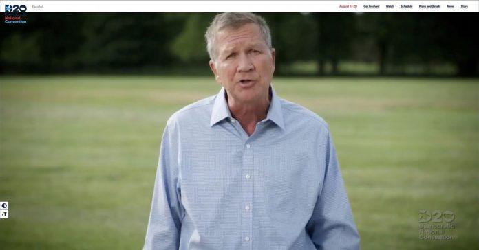 John Kasich makes the Republican's case for Joe Biden
