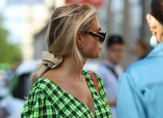 Proof That Scrunchies Are Back In A Big Way For Fall 2020