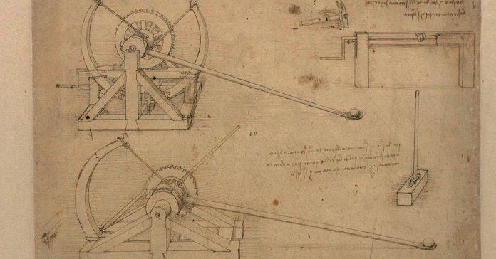 How Leonardo da Vinci's catapult worked
