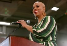 """Who Needs Hair With These Cheekbones?"" Ayanna Pressley's Selfie Sends A Powerful Message"