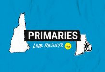 Live results for the New Hampshire and Rhode Island primaries