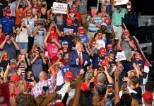 Trump is making a mockery of public health. His rally in North Carolina demonstrated it.