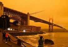 The orange skies and smoky air from Western wildfires, explained