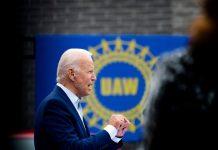 Polls: Joe Biden leads Trump in several key swing states