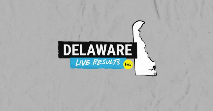 Live results for the Delaware state primary