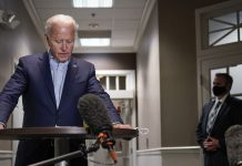 Joe Biden thinks whoever is sworn in this January should pick Ruth Bader Ginsburg's replacement