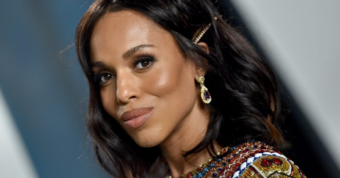 Kerry Washington's Emmys Nail Art Is Too Good To Miss
