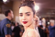 Lily Collins Puts A Modern Twist On French-Girl Beauty