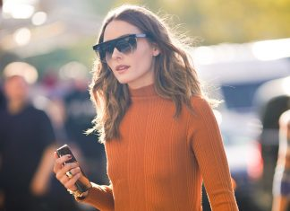 The Orange Manicure Makes For A Chic Entry Into Fall