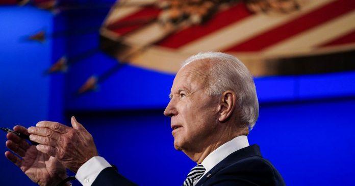 Polls: Biden has a double digit lead on Trump nationally