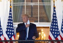 Trump wants to get back to the Oval Office. He may still be contagious.
