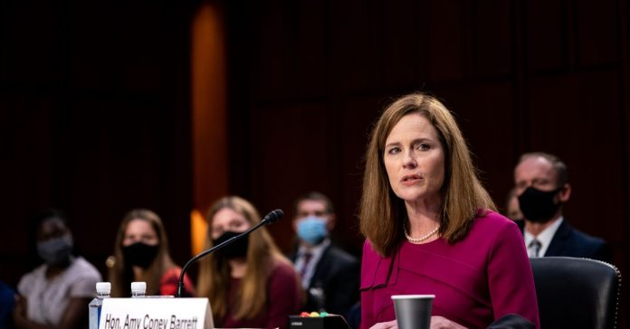 Read: Amy Coney Barrett's opening statement lays out her position on the role of the courts