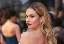 Lily James Just Might Be The Ultimate Fall Beauty Muse