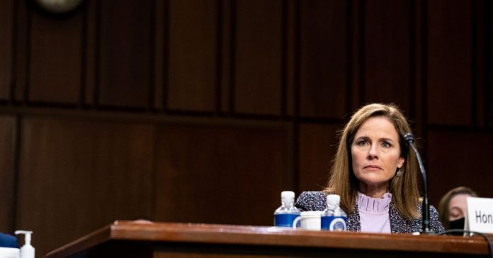 """Amy Coney Barrett describes climate change as a """"very contentious matter of public debate"""""""